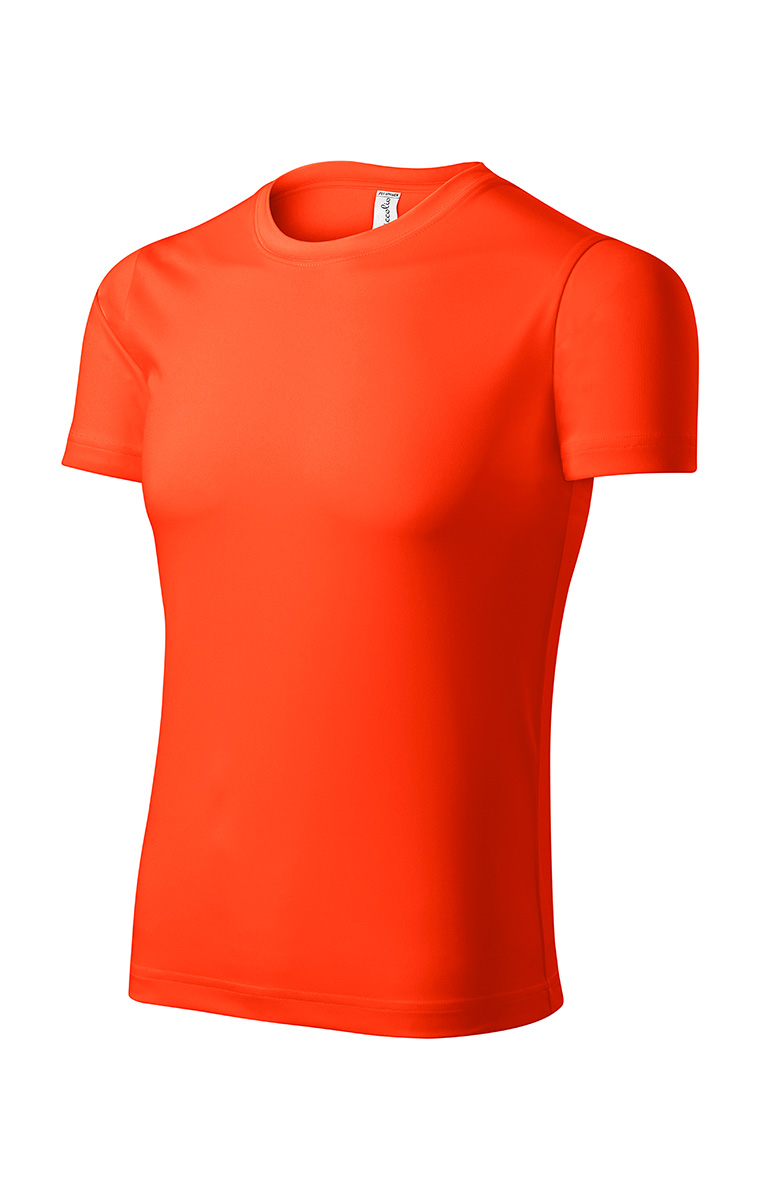 PIXEL UNISEX T-SHIRT -  (Neon orange)